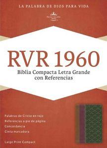 Biblia Compacta Letra Grande Referencias