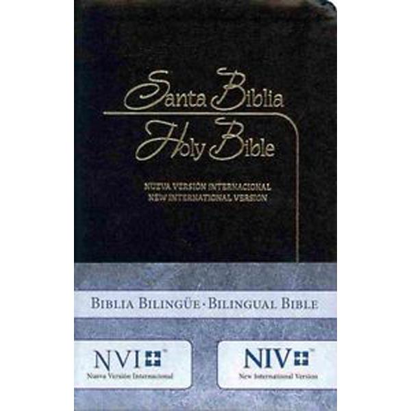 Biblia Bilingue Imitación Piel Negro