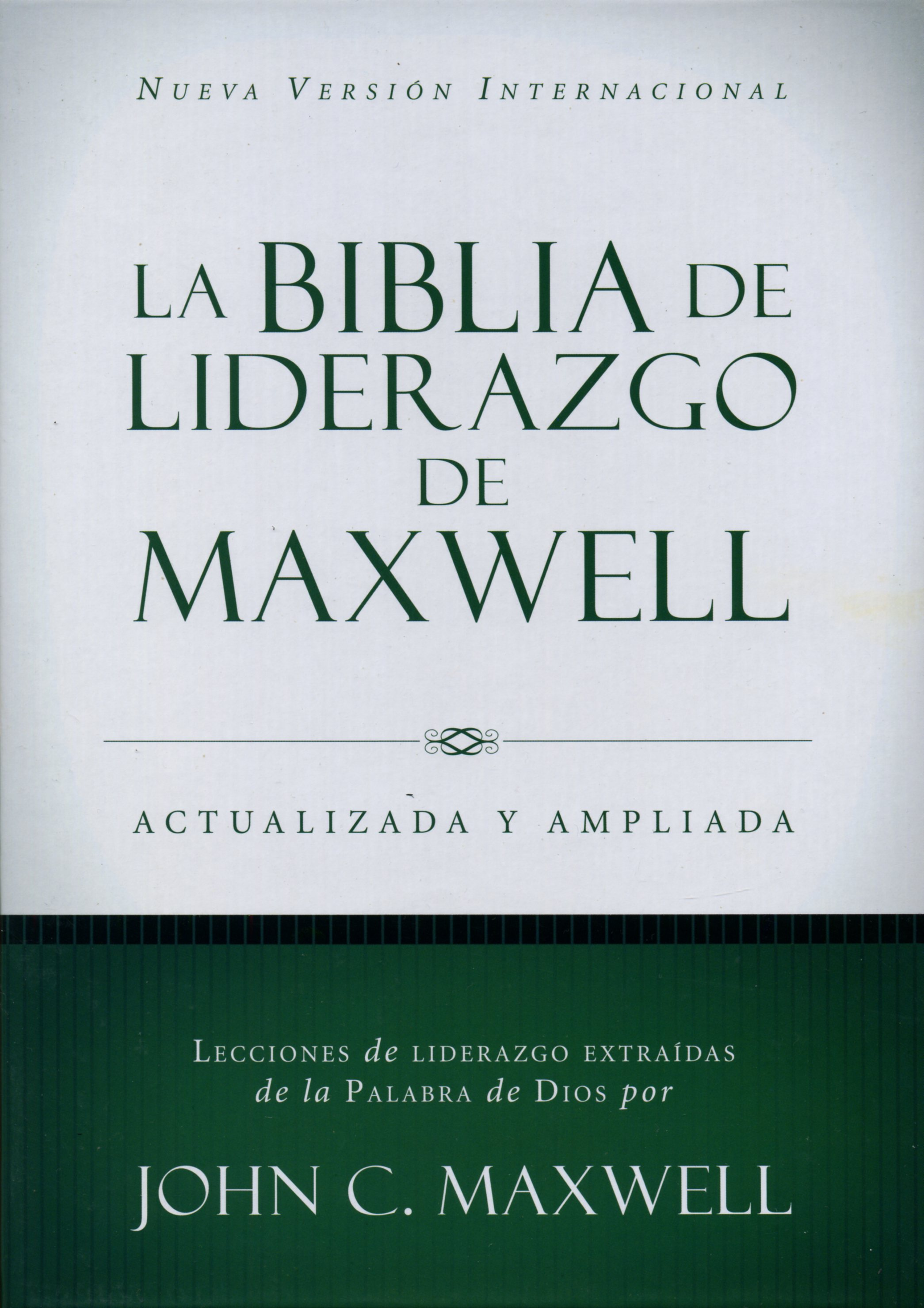 Biblia De Liderazgo De Maxwell Tapa Dura