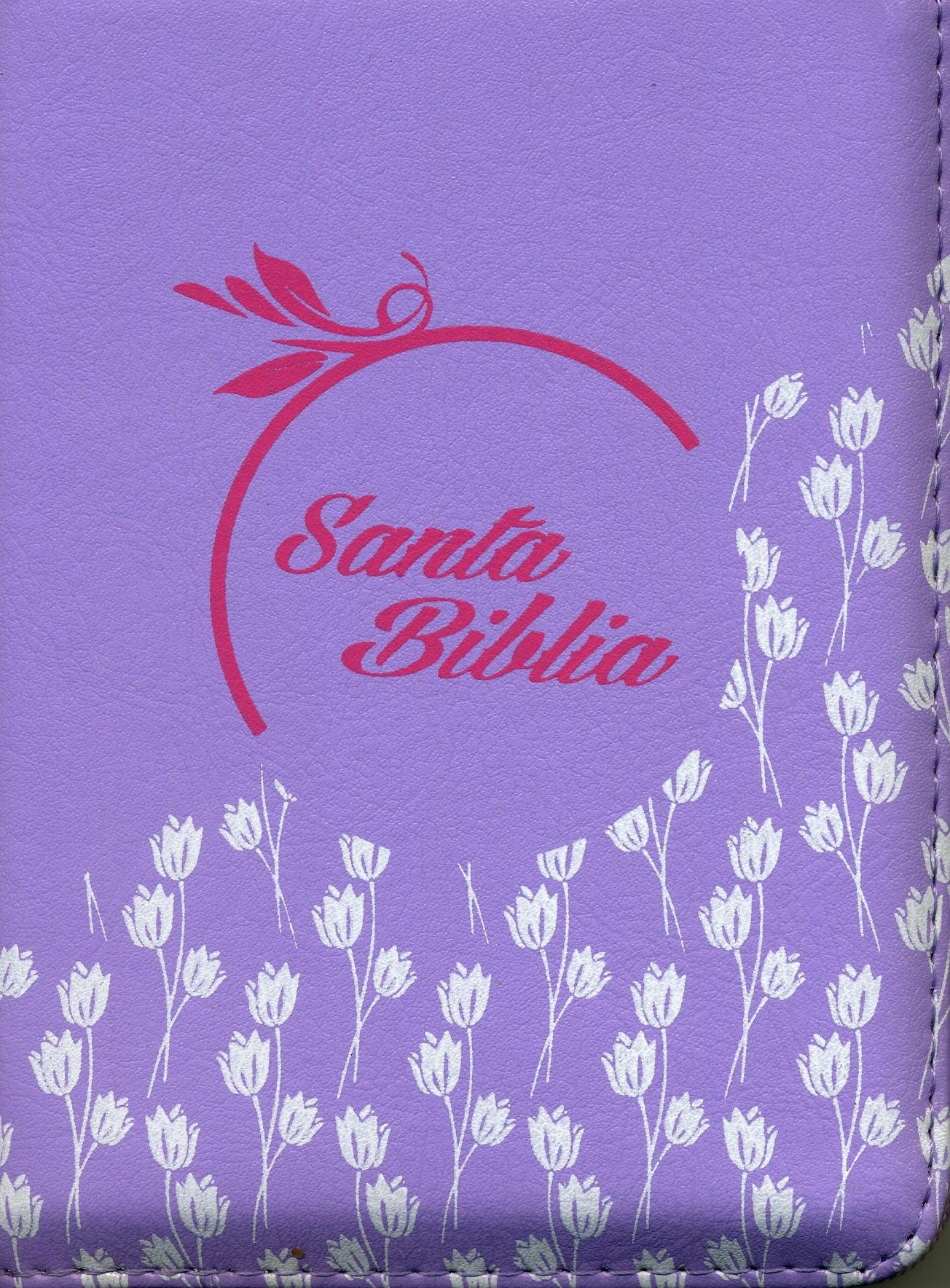 Biblia 025CZLG Lila Lavanda