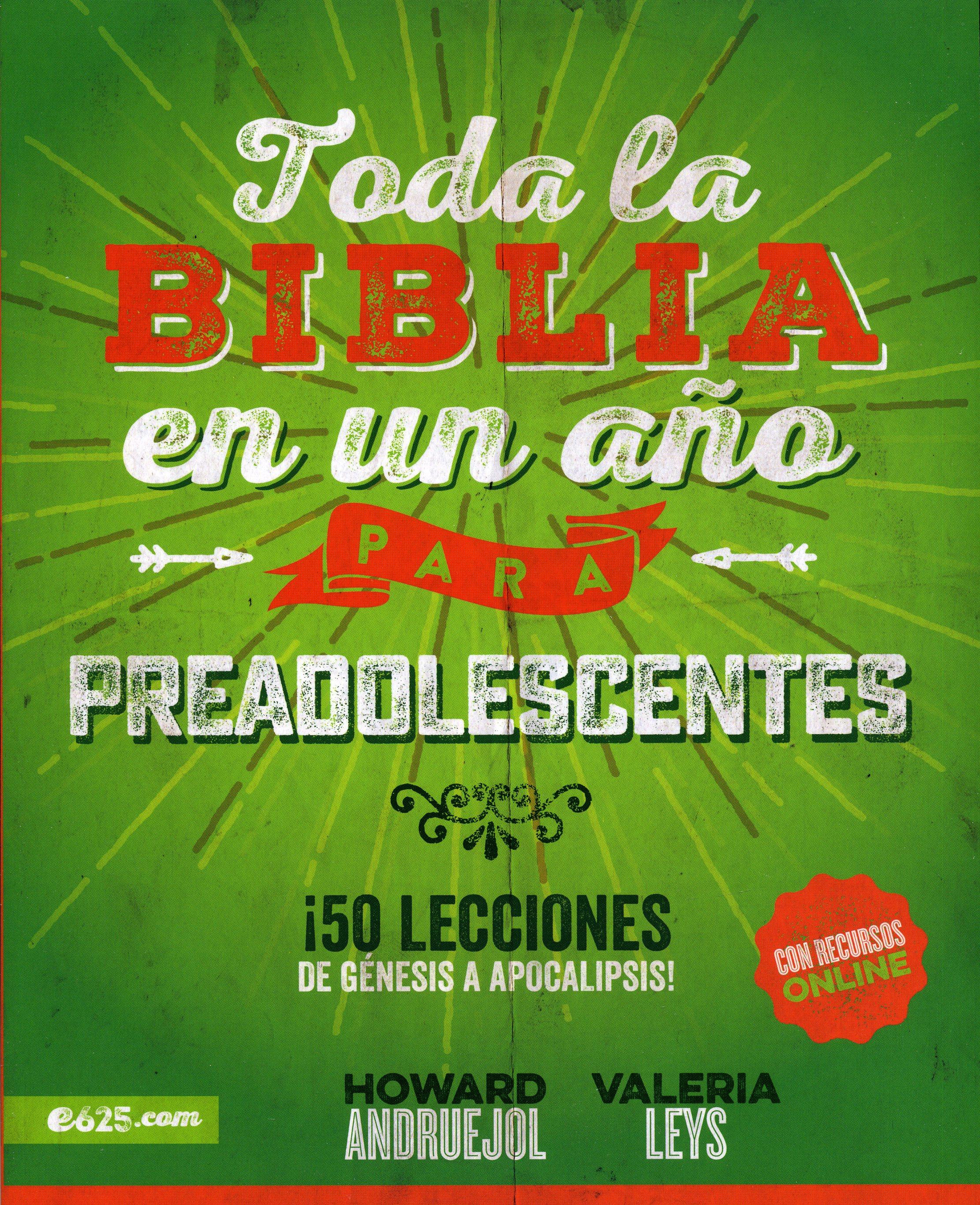 Toda La Biblia En Un Año Preadolescentes