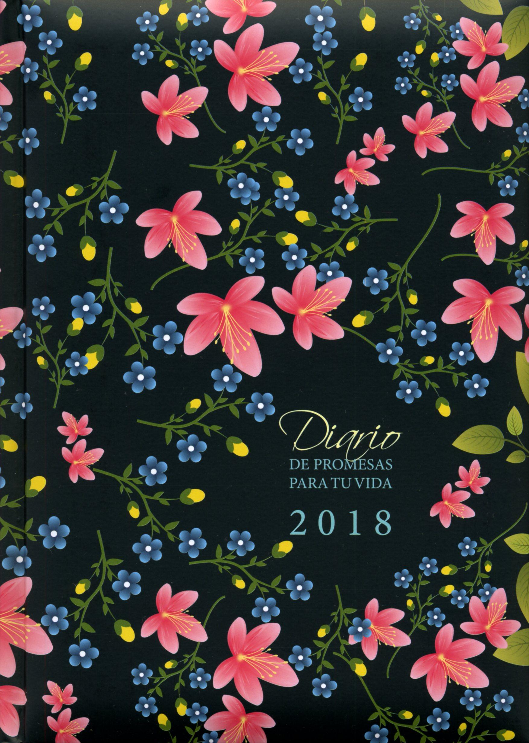 Agenda Diario De Promesas Para Tu Vida Flores: Edición