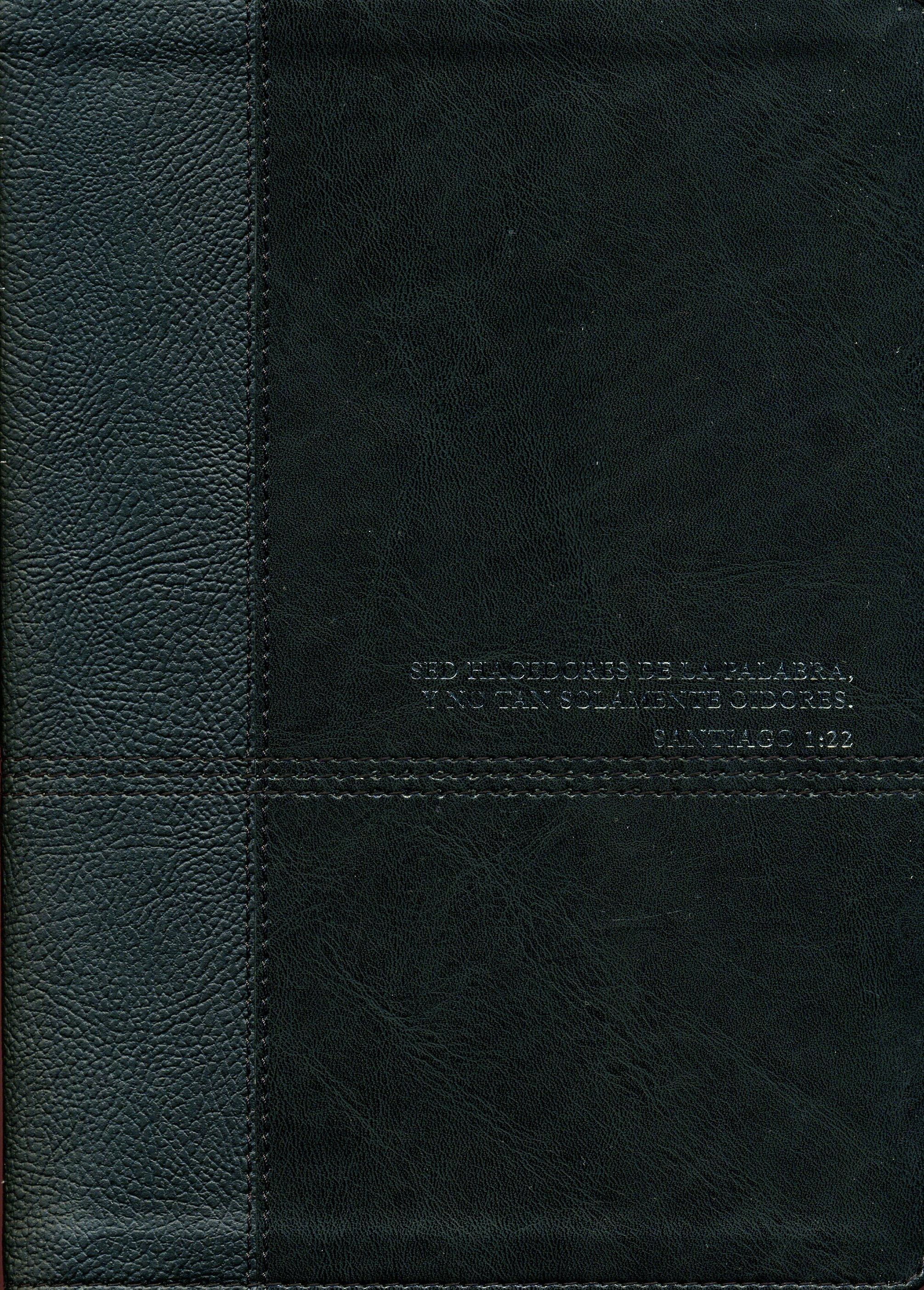 Biblia De Estudio Diario Vivir Negro Nueva Edición