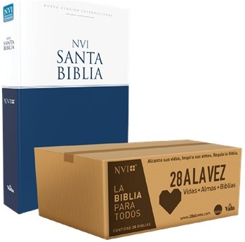 Caja De Biblias Misionera 28 A La Vez Nueva