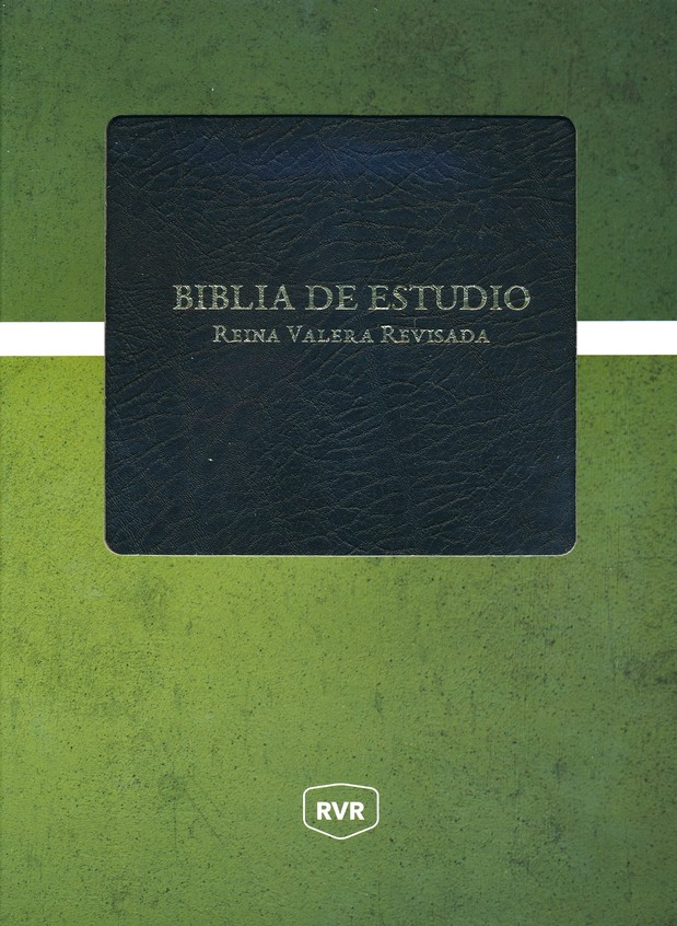 Biblia De Estudio Reina Valera Revisada - Negro