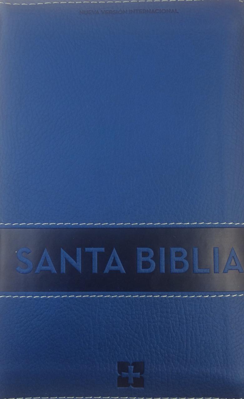 Biblia Ultrafina Aqua Con Cierre
