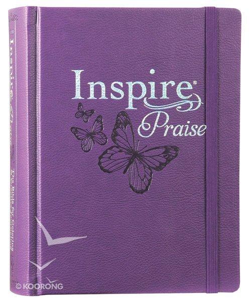 Biblia Inspire NLT-Purpura