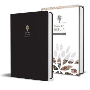 Biblia RVR1960-Letra Grande-Imitacion Piel Negra