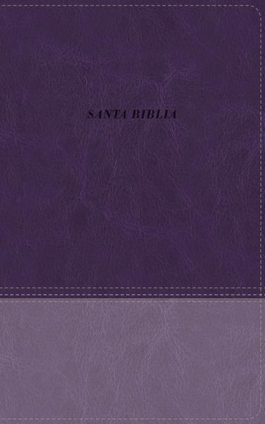Biblia De Las Americas Piel Italiana Lavanda