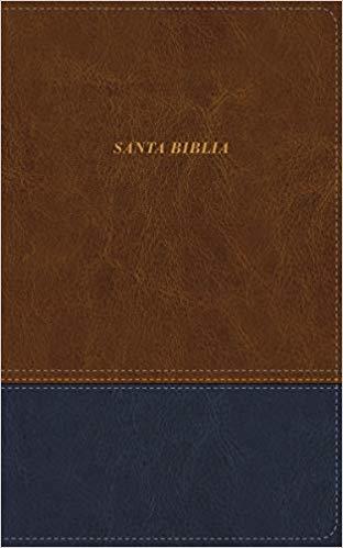 Biblia De Las Americas Piel Italiana Cafe