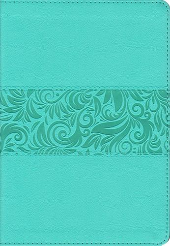 Biblia RVR60/Regalos Y Premios/Azul Turquesa/Simil Piel