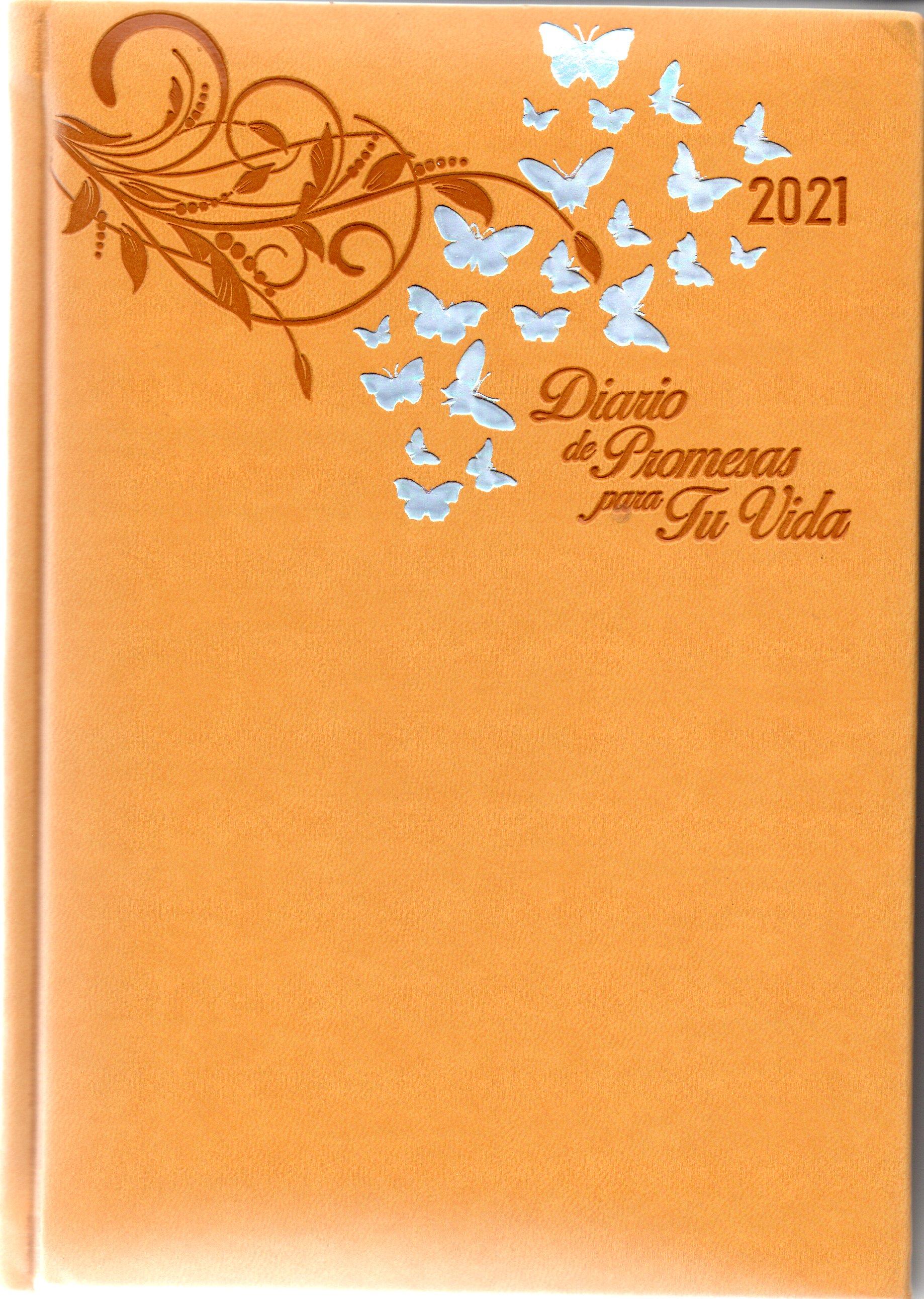 Agenda Diario De Promesas 2021 Mujer Amarillo