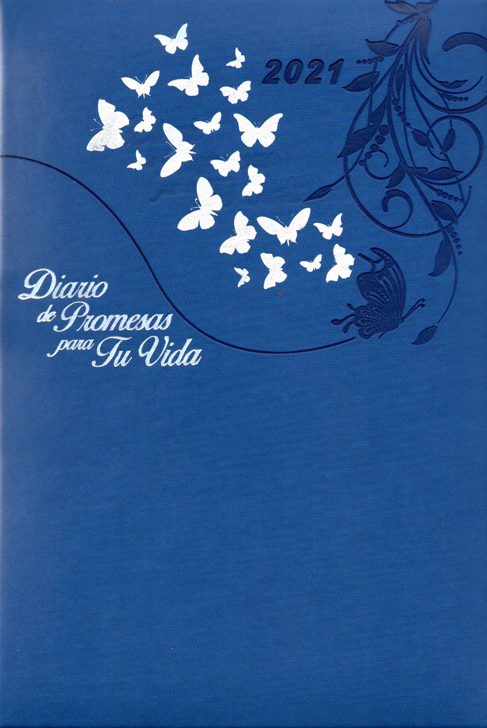 Agenda Diario De Promesas 2021 Mujer Azul Rey