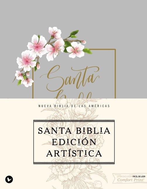 Biblia NBLA Edicion Artistica/Tapa Dura/Tela/Canto Con Diseño/