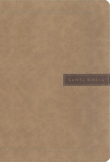 Biblia NBLA/Letra Super Gigante/Beige/Edicion Letra Roja