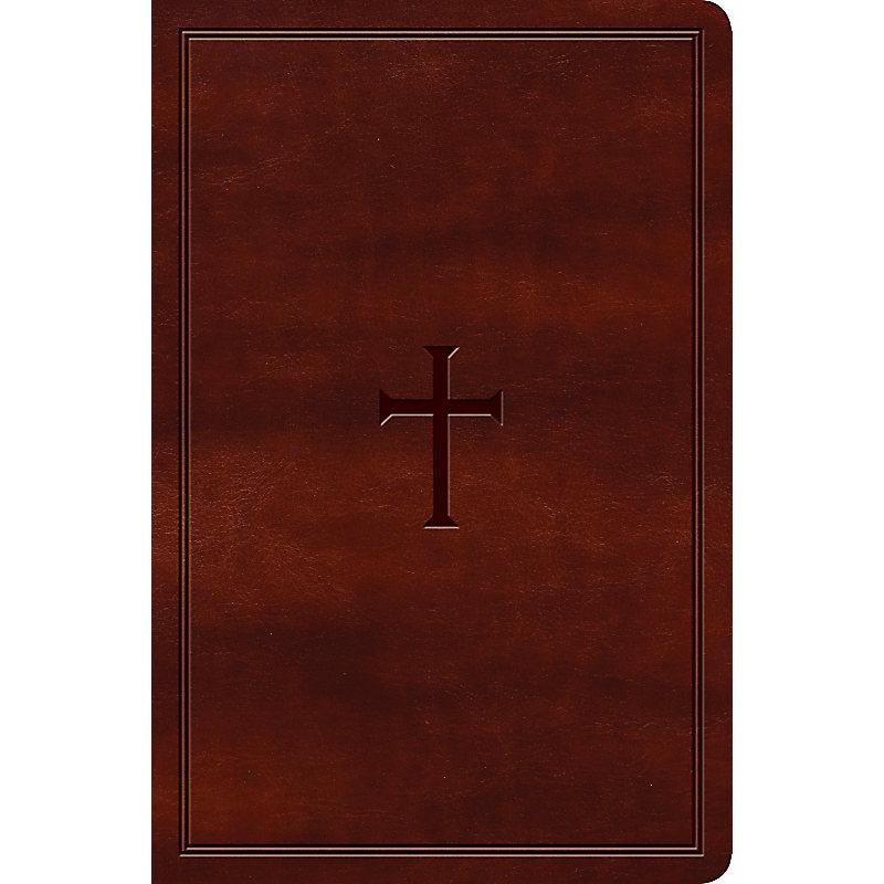 Biblia KJV/Letra Grande/Cafe/Ingles