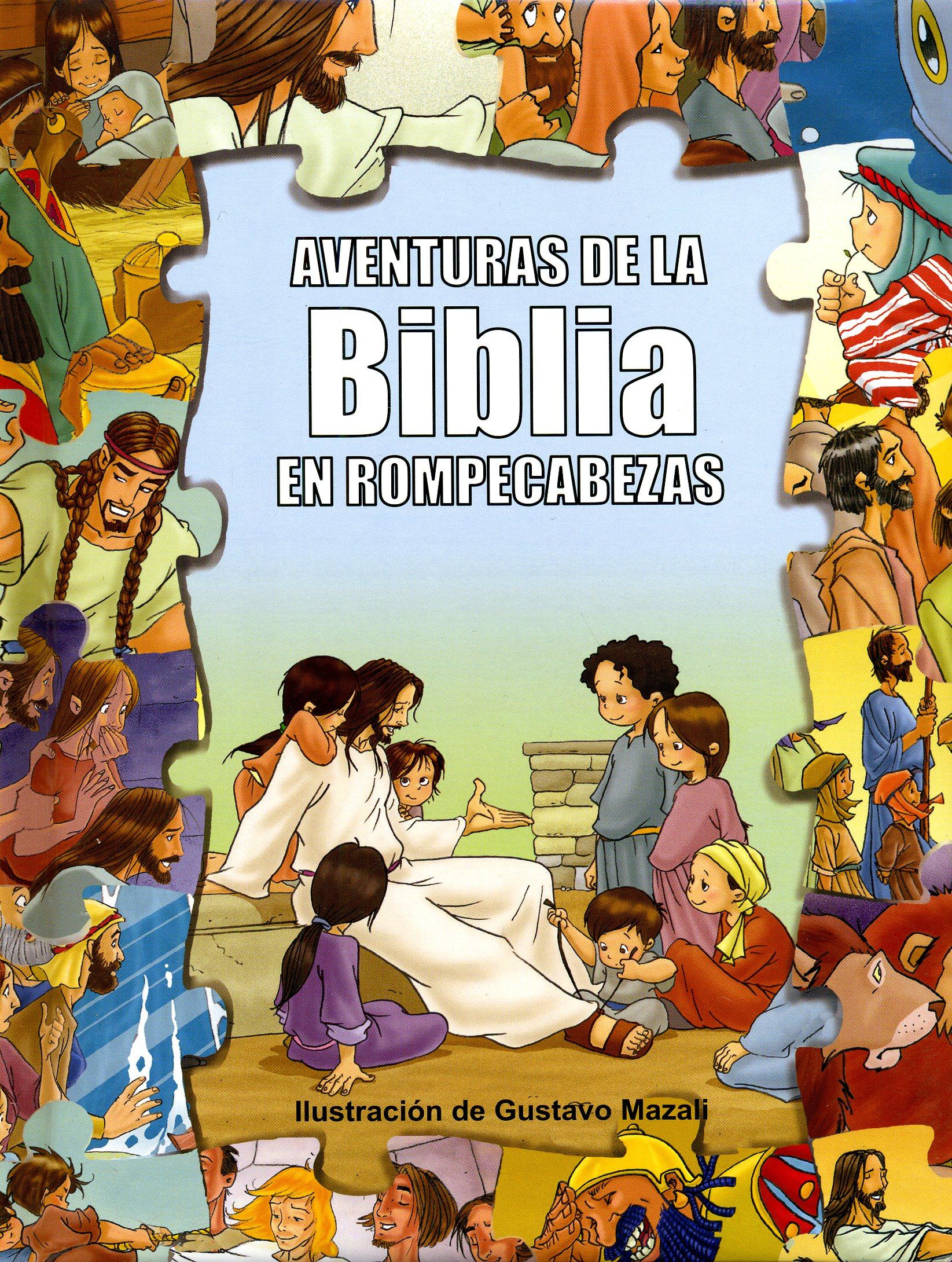 Aventuras de la biblia en rompecabezas