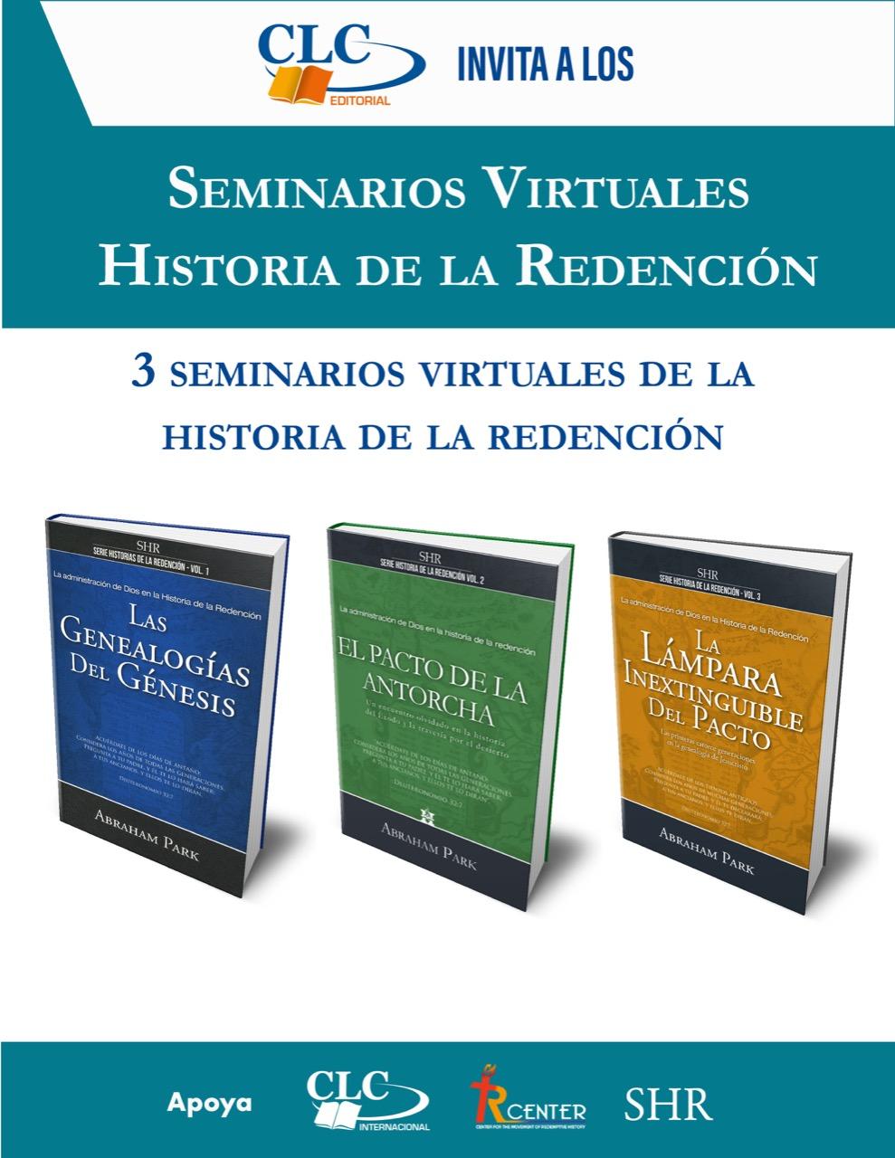 Seminario Virtual Historia De la Redención Precio Especial Vol 1,2 y 3