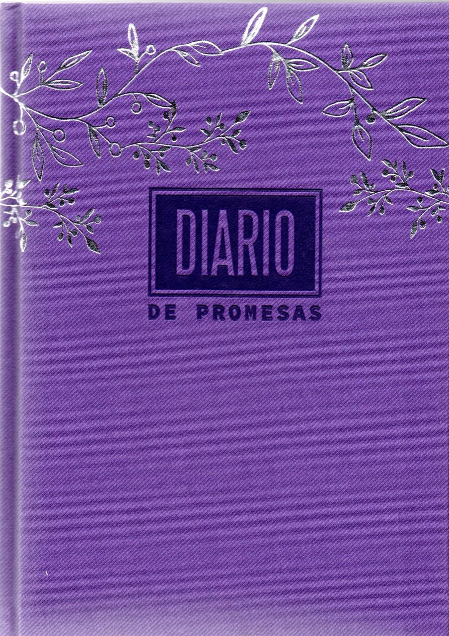 Agenda Diario De Promesas 2022 Mujer Morado