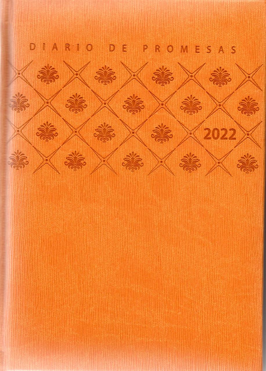 Agenda Diario De Promesas 2022 Mujer Amarillo
