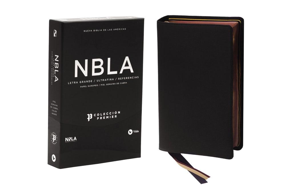 Biblia/NBLA/Coleccion Premier/Piel Ultrafina/Letra Grande/Negro